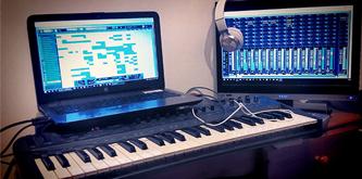 Small music studio